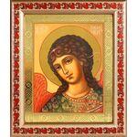 Архангел Гавриил, икона в рамке с узором 19*22,5 см - Иконы