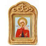Мученица София Римская, икона в резной деревянной рамке - Иконы