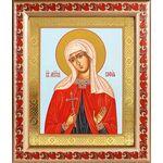 Мученица София Римская, икона в рамке с узором 19*22,5 см - Иконы