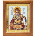 Великомученик Артемий Антиохийский, икона в широкой рамке 19*22,5 см - Иконы