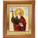 Апостол Андрей Первозванный, икона в широкой рамке 19*22,5 см - Иконы
