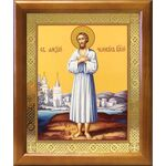 Преподобный Алексий человек Божий, икона в рамке 17,5*20,5 см - Иконы