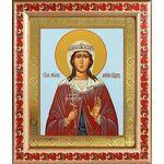 Мученица Лариса Готфская, икона в рамке с узором 19*22,5 см - Иконы