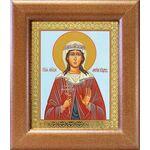 Мученица Лариса Готфская, икона в широкой рамке 14,5*16,5 см - Иконы