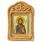 Предтеча и Креститель Господень Иоанн, икона в резной деревянной рамке - Иконы
