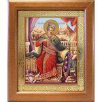 Великомученица Екатерина Александрийская, широкая рамка 19*22,5 см - Иконы
