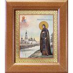 Благоверная княгиня Анна Кашинская, икона в широкой рамке 14,5*16,5 см - Иконы