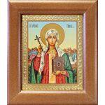 Равноапостольная Нина просветительница Грузии, рамка 14,5*16,5 см - Иконы