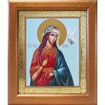 Великомученица Ирина Македонская, икона в широкой рамке 19*22,5 см - Иконы