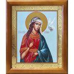 Великомученица Ирина Македонская, икона в рамке 17,5*20,5 см - Иконы
