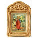 Равноапостольная Мария Магдалина, икона в резной рамке - Иконы