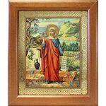 Равноапостольная Мария Магдалина, икона в широкой рамке 19*22,5 см - Иконы