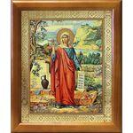 Равноапостольная Мария Магдалина, икона в рамке 17,5*20,5 см - Иконы