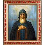 Преподобный Симеон Столпник Дивногорец, рамка с узором 19*22,5 см - Иконы