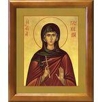 Мученица Гликерия Гераклейская, дева, икона в рамке 17,5*20,5 см - Иконы