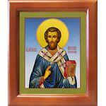 Святитель Арсений, архиепископ Керкирский, икона в рамке 12,5*14,5 см - Иконы