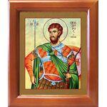 Великомученик Феодор Тирон, икона в рамке 12,5*14,5 см - Иконы