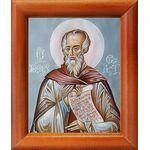 Преподобный Феодор Студит, икона в рамке 8*9,5 см - Иконы