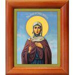 Мученица Александра Анкирская, Коринфская, икона в рамке 8*9,5 см - Иконы