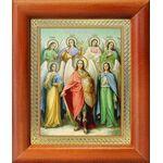 Собор Архангела Михаила, икона в рамке 8*9,5 см - Иконы