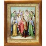 Собор Архангела Михаила, икона в рамке 17,5*20,5 см - Иконы