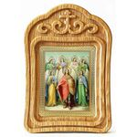 Собор Архангела Михаила, резная деревянная рамка - Иконы
