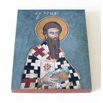 Апостол от 70-ти Ерм Далматский, Ермий, икона на доске 13*16,5 см - Иконы
