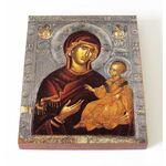 Икона Божией Матери Душеспасительница, Психосострия, доска 13*16,5 см - Иконы