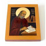 Преподобномученик Иоанн Валаамский, икона на доске 13*16,5 см - Иконы