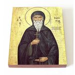 Преподобный Патапий Фивский, икона на доске 13*16,5 см - Иконы