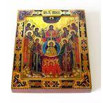 Собор Архангела Михаила, на доске 13*16,5 см - Иконы