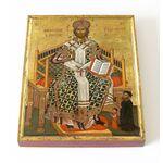 Спас Великий Архиерей, икона на доске 13*16,5 см - Иконы