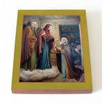 Явление Пресвятой Богородицы Сергию Радонежскому, печать 13*16,5 см - Иконы