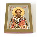 Святитель Георгий I, патриарх Константинопольский, доска 13*16,5 см - Иконы
