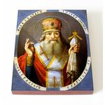Святитель Иоанн Постник, патриарх Константинопольский, доска 13*16,5см - Иконы