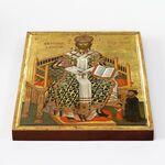 Спас Великий Архиерей, икона на доске 20*25 см - Иконы