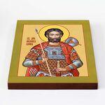 Мученик Иоанн Воин, икона на доске 20*25 см - Иконы