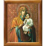 Казанская Песчанская икона Божией Матери, рамка 17,5*20,5 см - Иконы