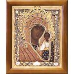 Казанская Ярославская икона Божией Матери, рамка 17,5*20,5 см - Иконы