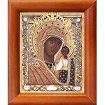 Казанская Ярославская икона Божией Матери, рамка 8*9,5 см - Иконы