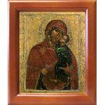 Толгская икона Божией Матери, Ярославль, 1314 г, рамка 12,5*14,5 см - Иконы