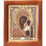 Казанская Ярославская икона Божией Матери, рамка 12,5*14,5 см - Иконы