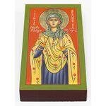 Мученица Бландина Лионская, икона на доске 7*13 см - Иконы