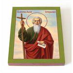 Апостол Андрей Первозванный, икона на доске 8*10 см - Иконы