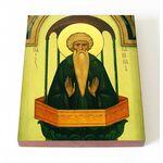 Преподобный Даниил Столпник, икона на доске 8*10 см - Иконы