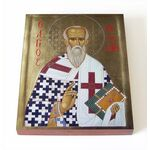 Священномученик Евгений Херсонесский, икона на доске 8*10 см - Иконы