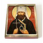 Священномученик Владимир Богоявленский, Киевский, на доске 8*10 см - Иконы