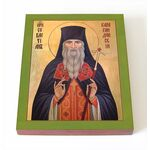 Преподобноисповедник Севастиан Карагандинский, икона на доске 8*10 см - Иконы