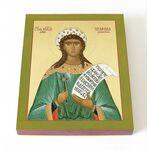 Мученица Серафима Римская, икона на доске 8*10 см - Иконы