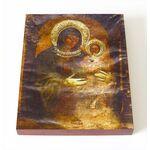Сирийская икона Божией Матери, печать на доске 8*10 см - Иконы